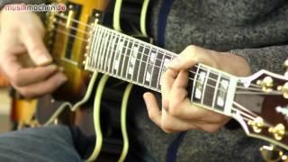 getlinkyoutube.com-Ibanez AS153-AYS Semiakustik-E-Gitarre im Test