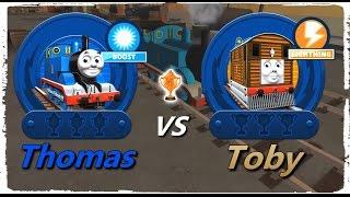 getlinkyoutube.com-Thomas & Friends: Go Go Thomas! – Thomas VS Toby