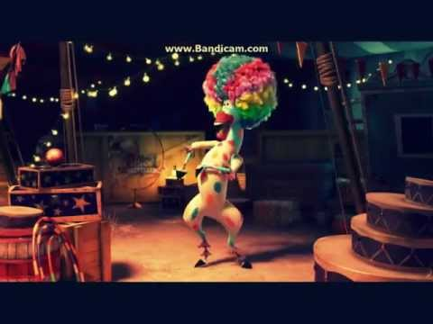 Madagascar 3 Marty's Circus Afro Song!! LOL!