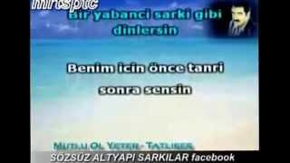 getlinkyoutube.com-İbrahim Tatlıses-Mutlu ol yeter karaoke.
