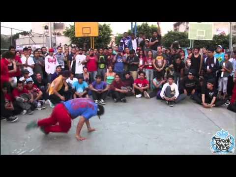 PERA VS SPAWN BBOY VIVE AL LIMITE 2012 ECKO