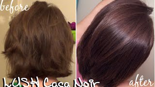 getlinkyoutube.com-Lush Caca Noir Henna Hair Results + New Haircut!