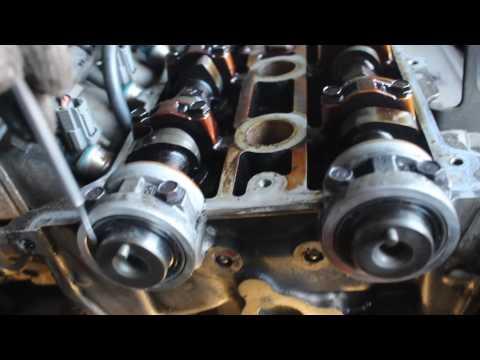 Расположение датчика распредвала в Mazda 3