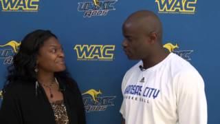 Interview with UMKC Men's Head Basketball Coach Kareem Richardson