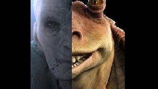 getlinkyoutube.com-Is JarJar really Snoke? -Star Wars theory