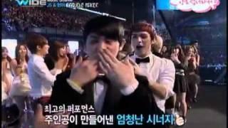 getlinkyoutube.com-[120104] Troublemaker - Mnet WIDE Music Shuffle