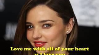 getlinkyoutube.com-Love Me With All Of Your Heart - Engelbert Humperdinck Karaoke