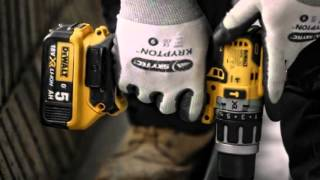 getlinkyoutube.com-DeWalt DCD791 / DCD796 / DCF887 New Extended Drill & Impact XR Range