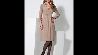 getlinkyoutube.com-Трикотажное платье.  Моделирование.