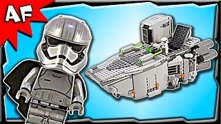 getlinkyoutube.com-Lego Star Wars First Order Transporter 75103 Stop Motion Build Review