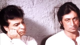 Kadar Khan, Shakti Kapoor in Jail-  Baap Numbri Beta Dus Numbri Scene