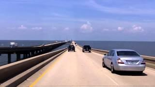 getlinkyoutube.com-The World's Longest Overwater Bridge (the Lake Pontchartrain Causeway)