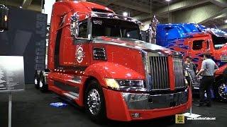 """2015 Western Star 5700 SE 68"""" Sleeper Tractor Truck - Detroit DD15 14 8L 505hp Engine - Walkaround"""
