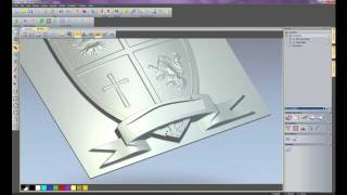 getlinkyoutube.com-Working with 3D Clipart in ArtCAM Express 2011