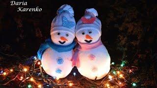 getlinkyoutube.com-DIY Снеговик своими руками за 5 минут.  Мастер класс