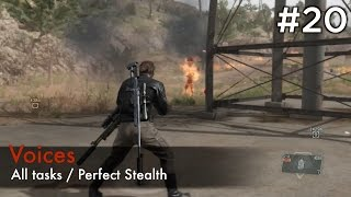 getlinkyoutube.com-【MGSV:TPP】Episode 20 : Voices (S Rank/All Tasks/Perfect Stealth)