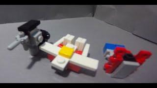 getlinkyoutube.com-Lego TransFormers #16: The Mini Mini Lego Transformers