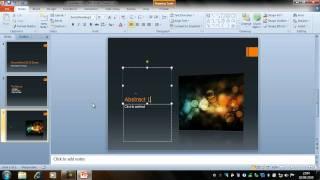 getlinkyoutube.com-Creating a Presentation - PowerPoint 2010