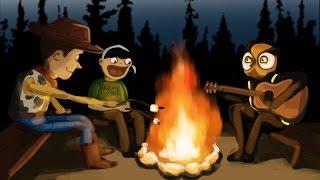 getlinkyoutube.com-Gmod Sandbox Funny Moments - Zombies Camping Trip!