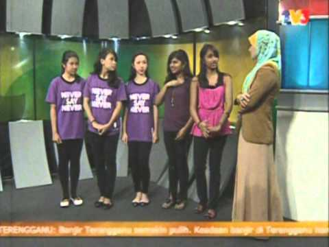 Malaysia Hari Ini, TV3 - Flash Mob Girl Effect 2011