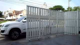 getlinkyoutube.com-ระบบเปิด-ปิด ประตูรั้วแบบเลื่อนโค้ง