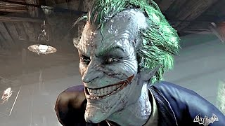 getlinkyoutube.com-Batman Arkham Asylum THE MOVIE All Cutscenes