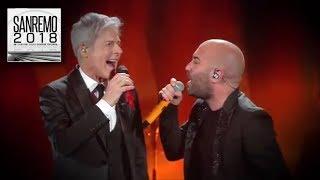 """Sanremo 2018 - I Negramaro e Claudio Baglioni duettano con """"Poster"""""""