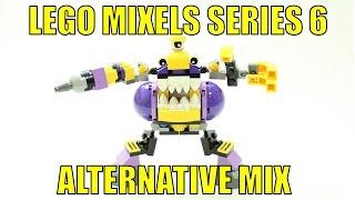 getlinkyoutube.com-LEGO MIXELS SERIES 6 KRAMM & SNAX ALTERNATIVE MIX CHOPS!