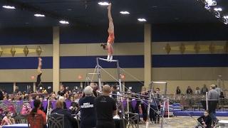 getlinkyoutube.com-2017 Brestyan's Las Vegas Invitational Gymnastics Meet | Level 9.4 | Acroanna