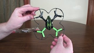getlinkyoutube.com-3-Blade Props for Hubsan X4 - Review and Flight Demo