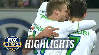 getlinkyoutube.com-VfL Wolfsburg vs. Bayer Leverkusen | 2015–16 Bundesliga Highlights