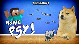 NOWE PSY W MINECRAFT?! - Dog Style