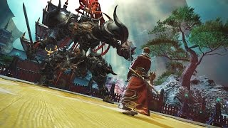 Final Fantasy XIV - Stormblood Benchmark Trailer