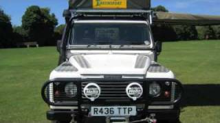 getlinkyoutube.com-Africa Overland 4x4 Land Rover Vehicle #AfricaOverland