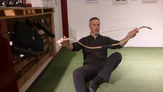 Archery FAQ: How to string a Horsebow?