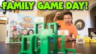 getlinkyoutube.com-WAR & PIECES - Family Game Night (Day)!!!