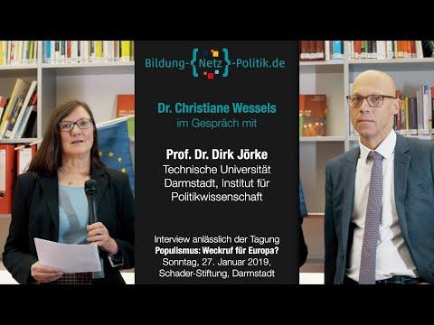 Populismus-Moralismus-Interview mit Prof. Dr. Dirk Jörke
