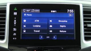 getlinkyoutube.com-2016 HondaLink (2016 Pilot) Infotainment Review