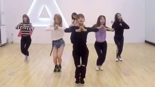 getlinkyoutube.com-Apink - Only One - mirrored dance practice video - 에이핑크 내가 설렐 수 있게 안무 연습 영상