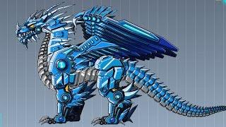 getlinkyoutube.com-Robot Ice Dragon Game - Kids Robot Dinosaur Games