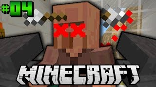 getlinkyoutube.com-10 Wege um VILLAGER zu TÖTEN?! - Minecraft Adventuremap #04 [Deutsch/HD]