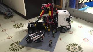getlinkyoutube.com-Lego technic 42043 RC A &B