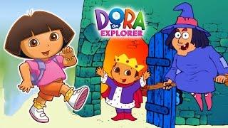 getlinkyoutube.com-Dora the Explorer:  Dora's saves the prince. Games online