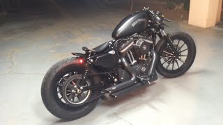 getlinkyoutube.com-2013 Harley Davidson Custom Iron Sportster - Sail