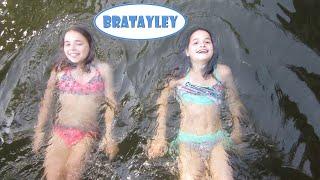 getlinkyoutube.com-Friends Floating in the River (WK 227.4) | Bratayley