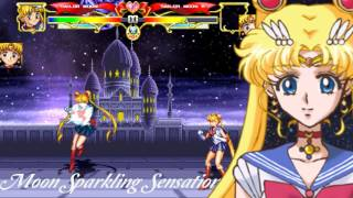 getlinkyoutube.com-【TsukinoAi+】MUGEN Char : Sailor Moom Hyper Moves Remake
