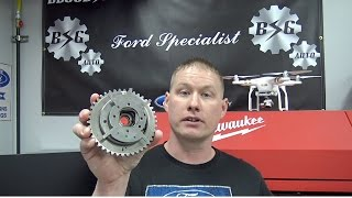 getlinkyoutube.com-Ford 4.6L & 5.4L 3v Engines: Camshaft Phaser Failure Inspection