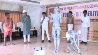 getlinkyoutube.com-Unity In Diversity- A silent skit by the students of Hebron school,Tiruvannamalai