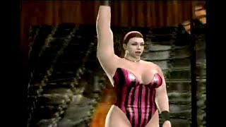 getlinkyoutube.com-Stephanie James - female wrestler - entrance at the Amazon Club