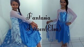 Fantasia Frozen Elsa #aliexpress